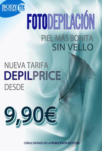 OFERTA FOTODEPILACION – DESDE 9,90 EUR